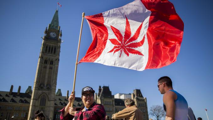 Канада каннабис