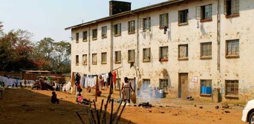 Хараре, Зимбабве бедность