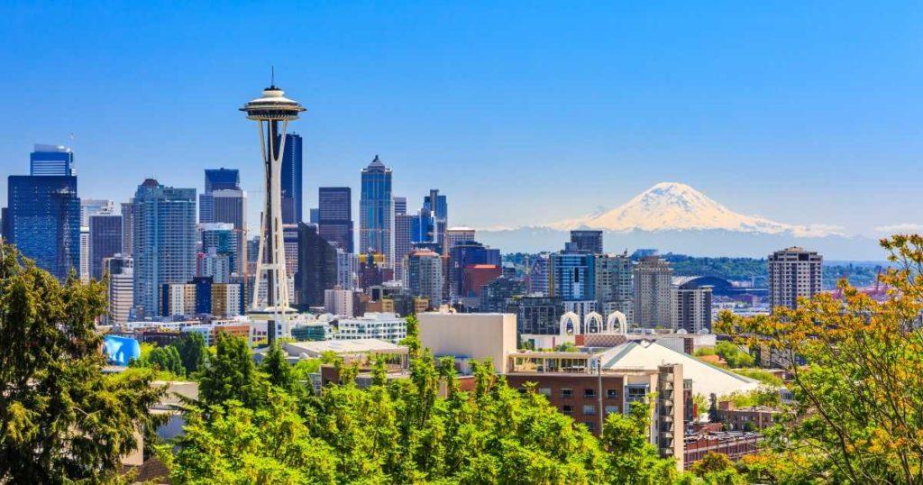 Сиэтл - выдающийся город США