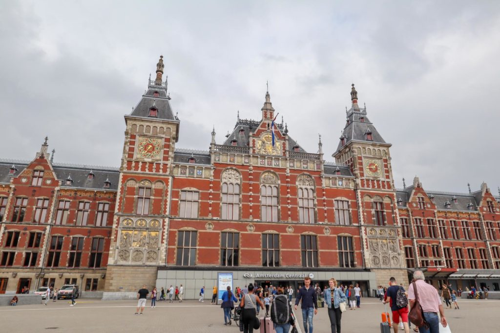 Вокзал Amsterdam Centraal