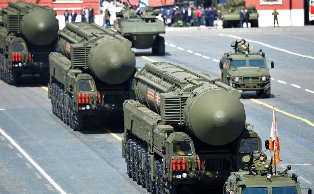 Россия ядерный арсенал