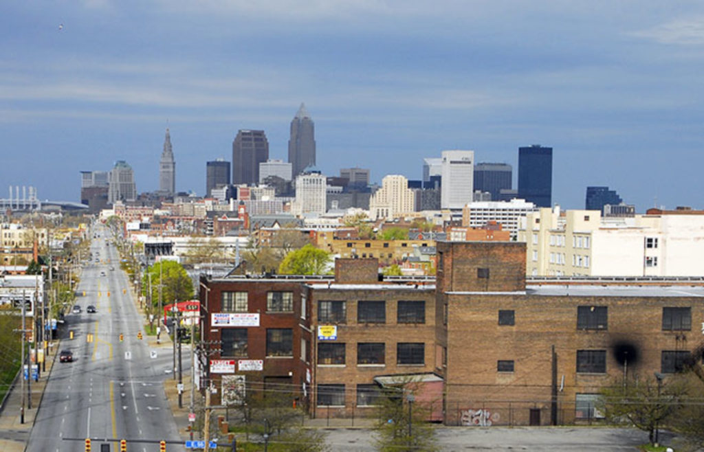 Кливленд, Огайо бедность