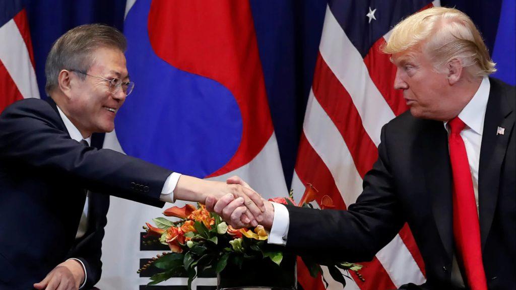 Южная Корея Дональд Трамп