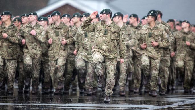 Армия Великобритания