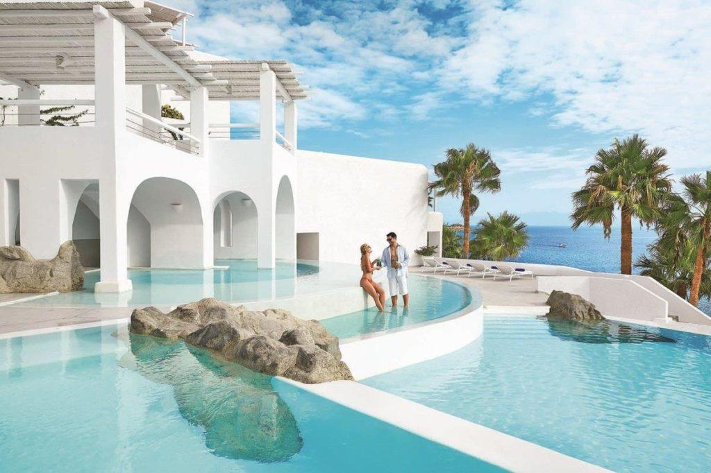 Отель Grecotel Mykonos Blu