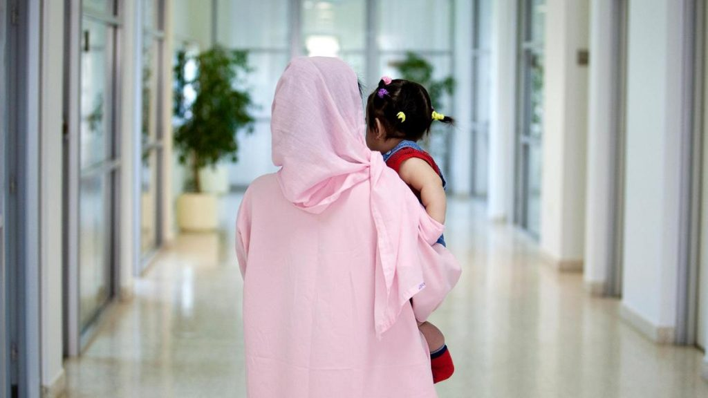ОАЭ женщины и дети