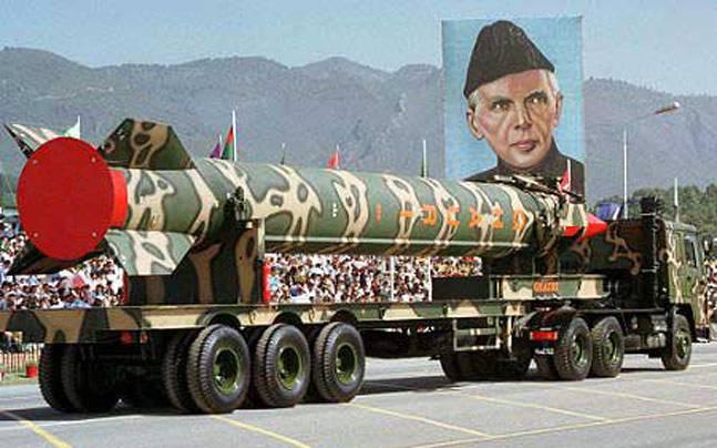 Пакистан ядерный арсенал