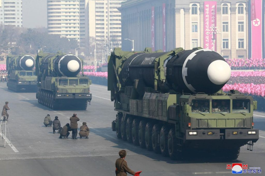 Северная Корея ядерный арсенал