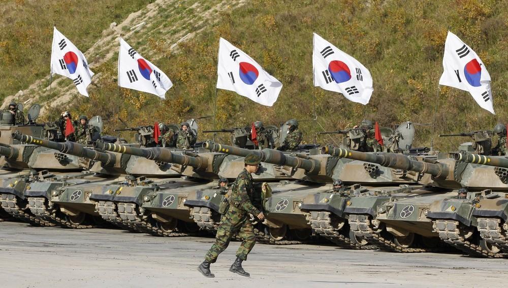 Армия Южная Корея
