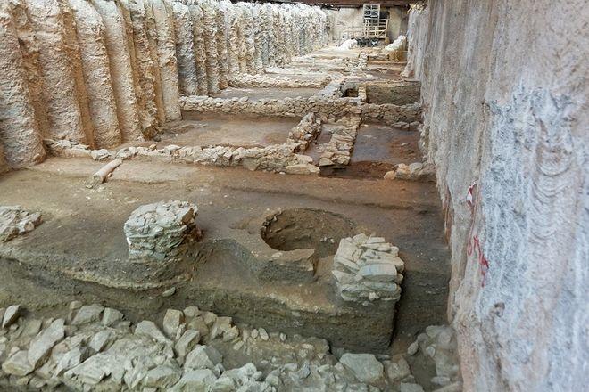 Древние руины Салоники
