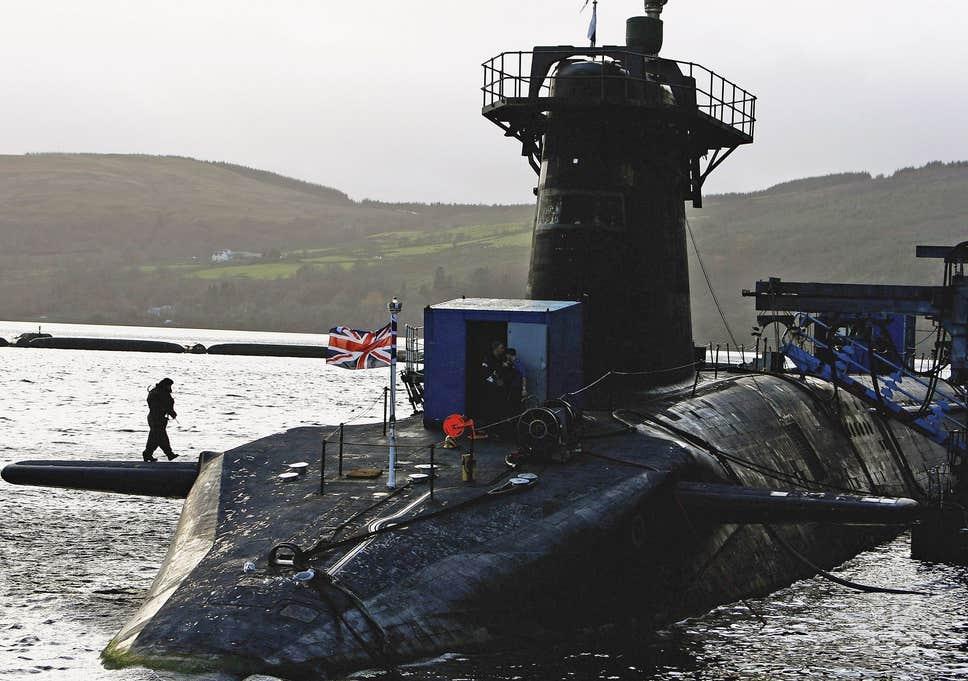 Великобритания ядерный арсенал