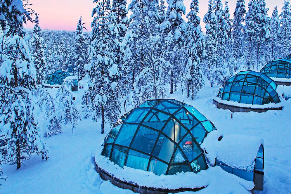 Отель Какслауттанен - Финляндия