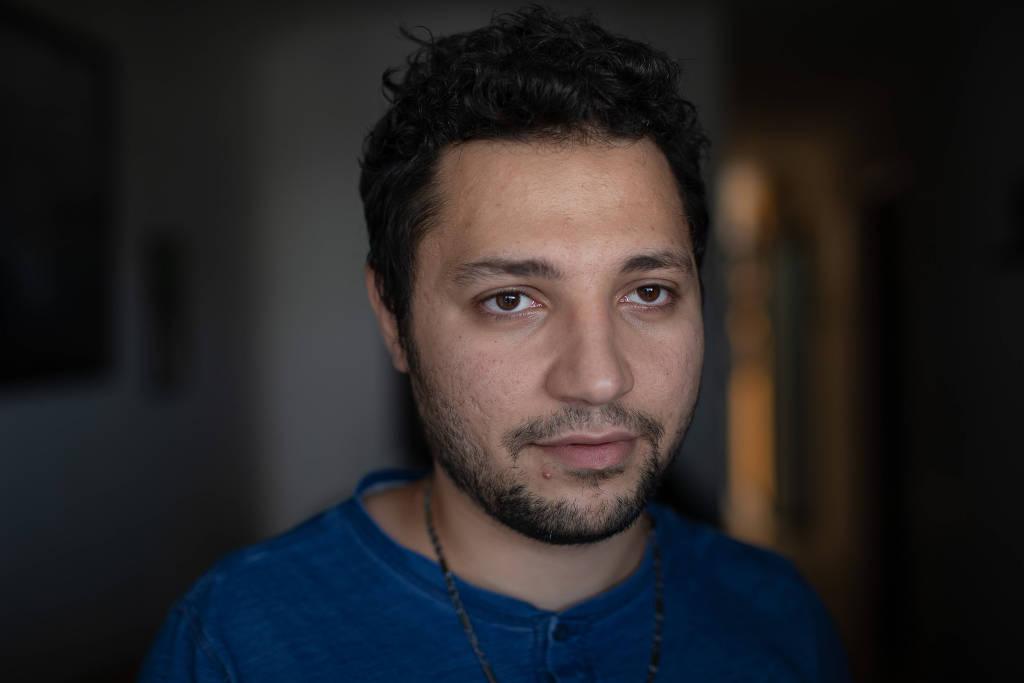 Студент инженерного факультета Хакам Элуссеф, 27 лет, родом из Сирии, находится в Бразилии с 2014 года.