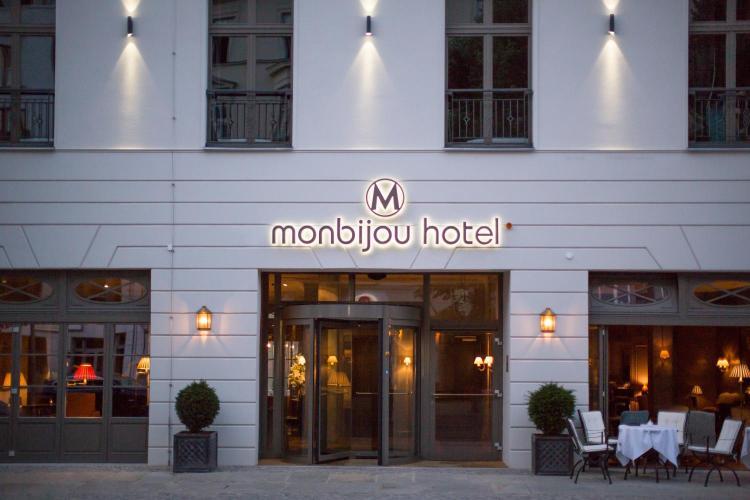 Отель Monbijou Hotel Берлин