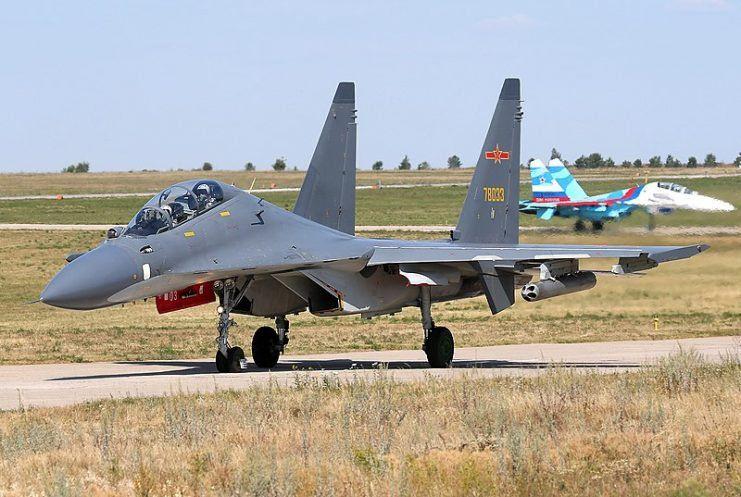Китай J-11B