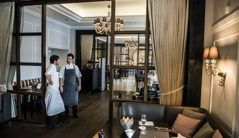 Отель d'Angleterre ресторан Marchal