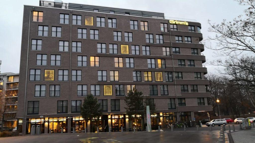 Отель Grimm's Hotel am Potsdamer Platz Берлин