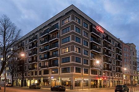 Отель Adina Apartment Hotel Berlin Mitte Берлин