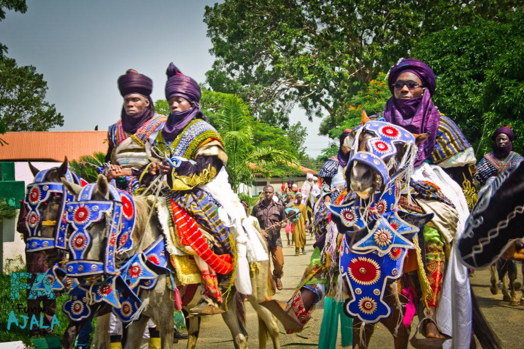 Королевский парад во время фестиваля Дурбар