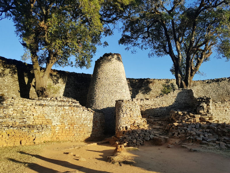 Зимбабве каменные дома