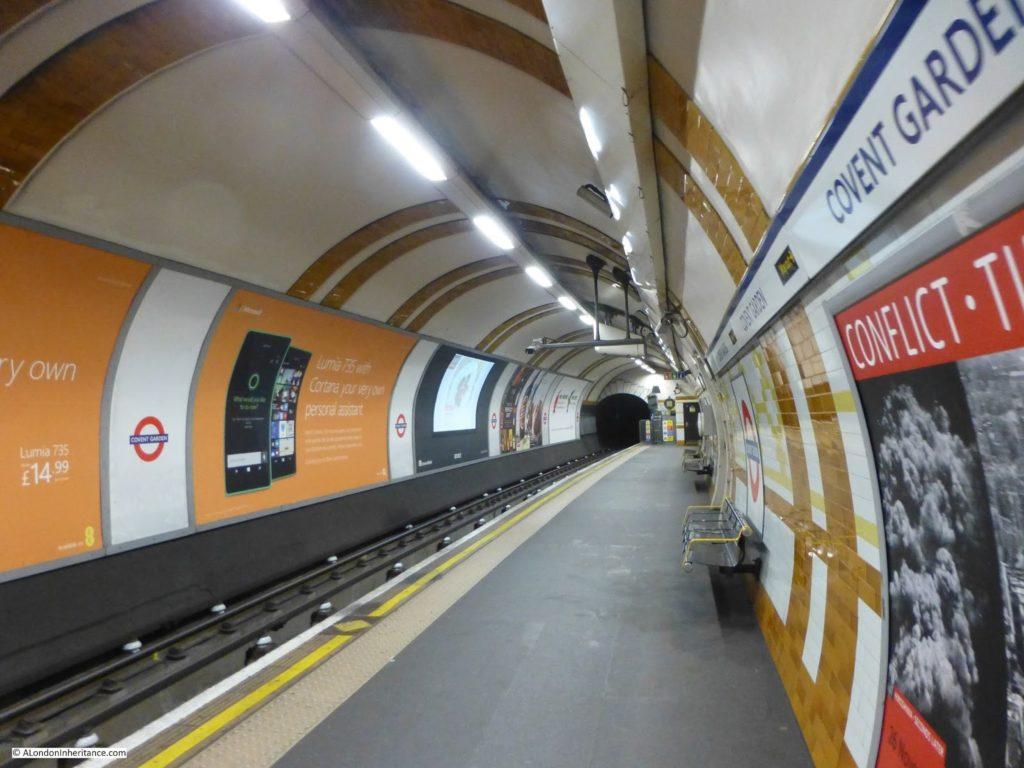 Станция Ковент-Гарден приведения