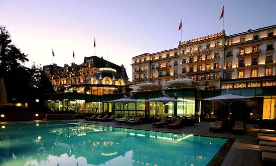 Отель Beau-Rivage Palace