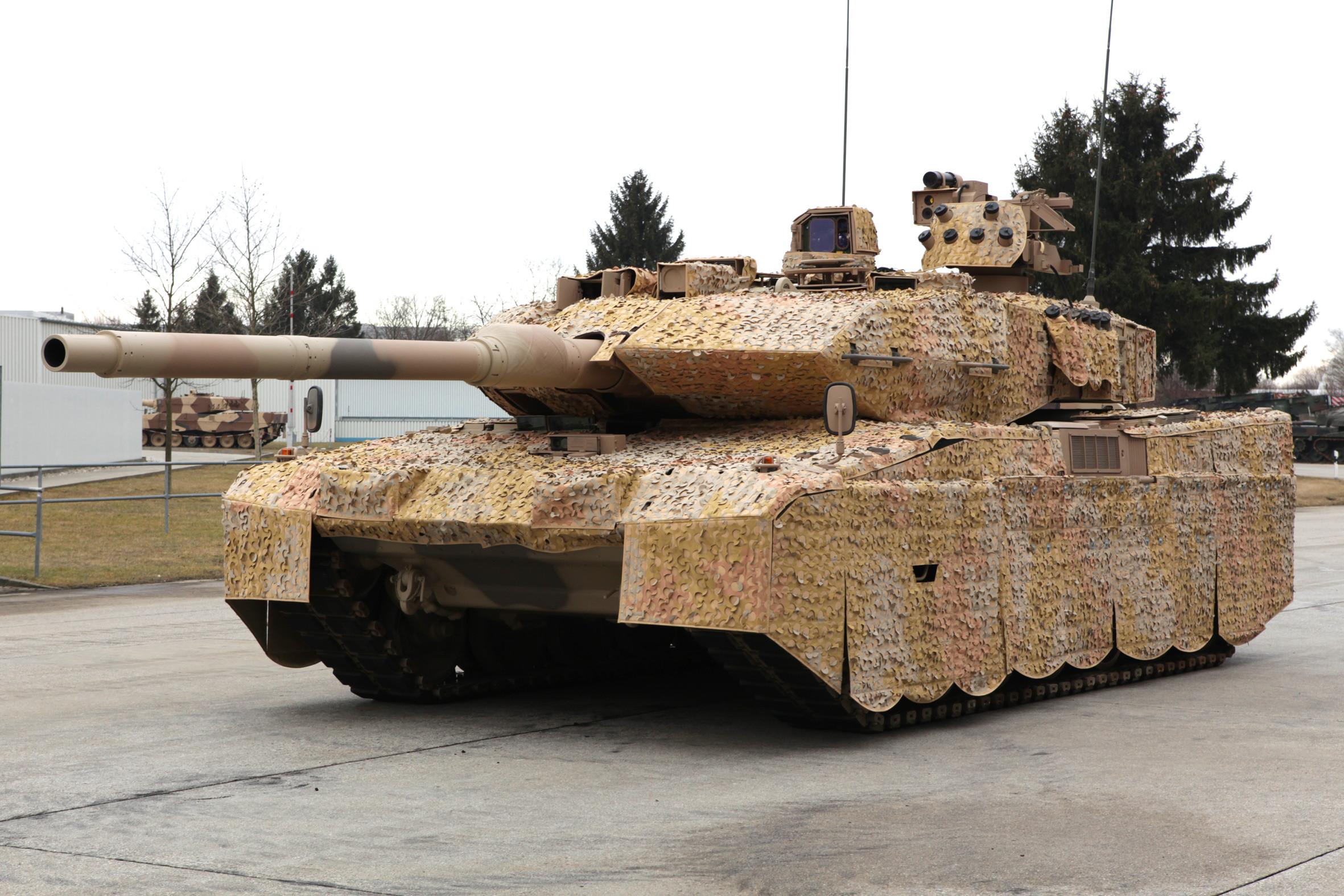 Леопард 2А7 Индия