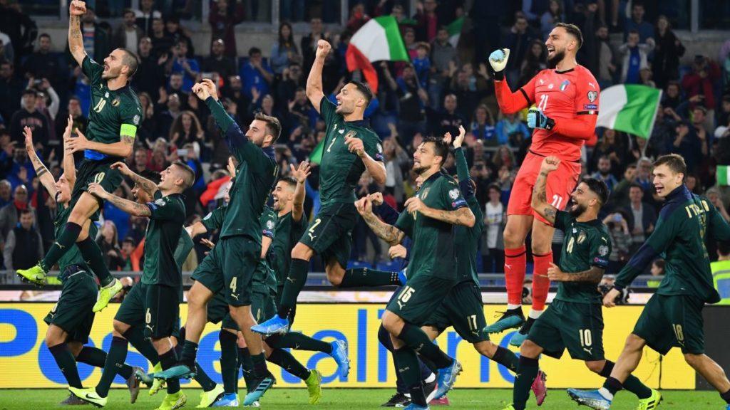 Италия Греция Евро 2020