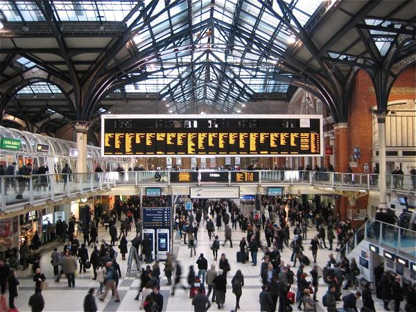 Станция Ливерпуль-стрит приведения