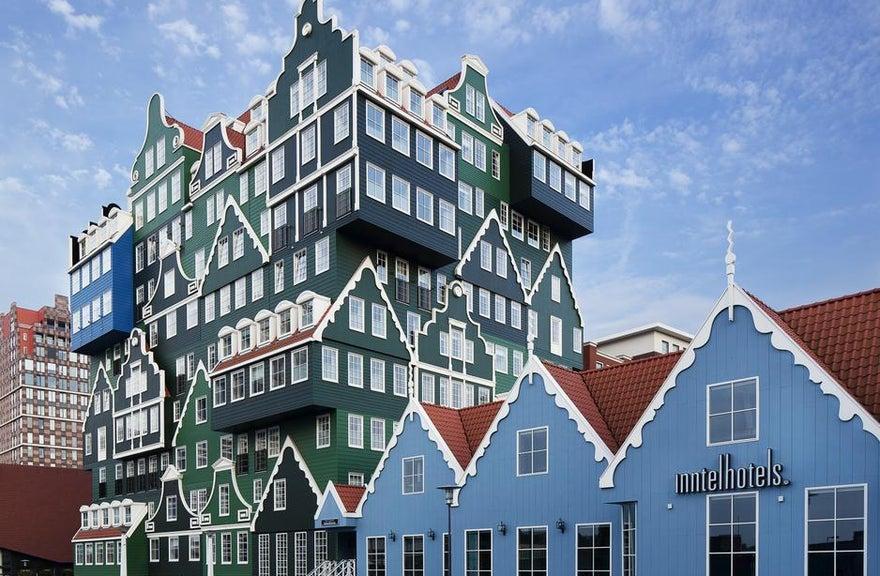 Отель ZAANDAM INNTEL HOTEL - Амстердам, Нидерланды