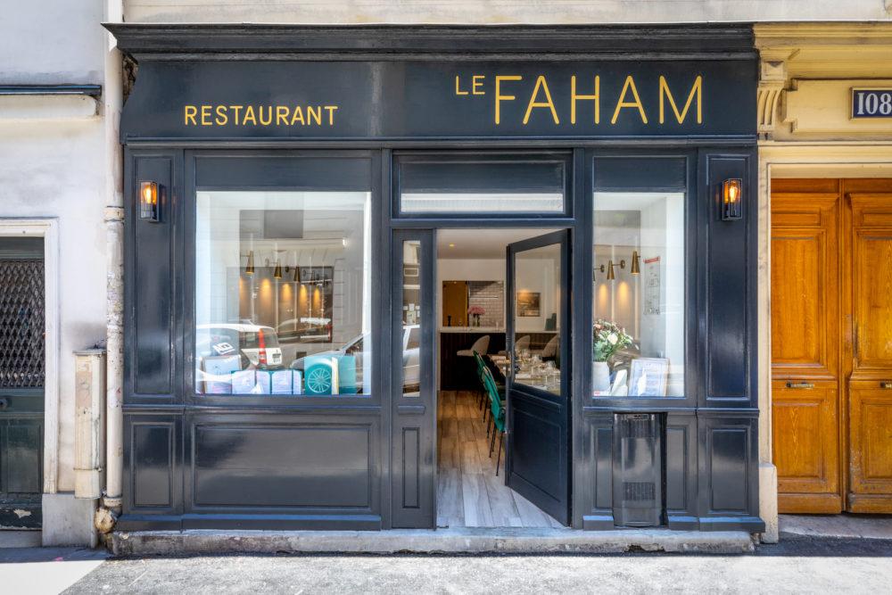 Ресторан Le Faham Париж