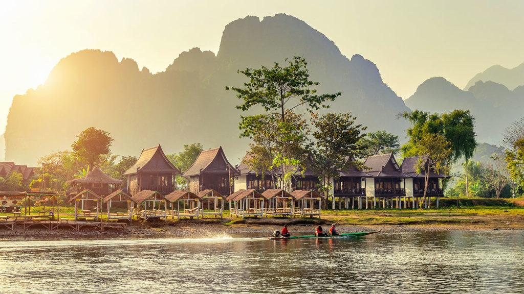 Лаос туризм
