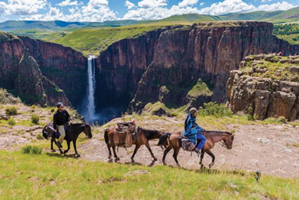 Лесото туризм