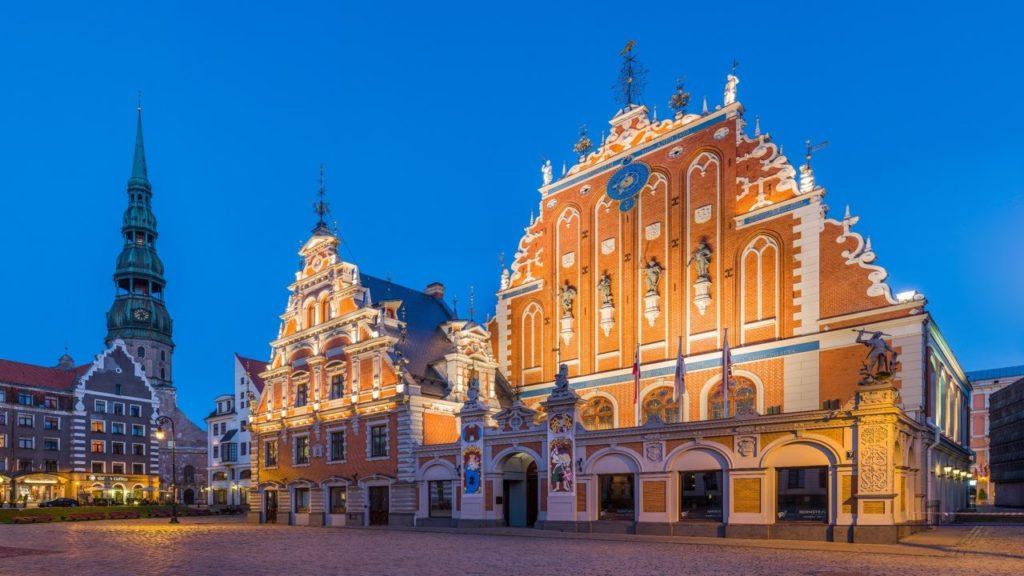 Латвия туризм