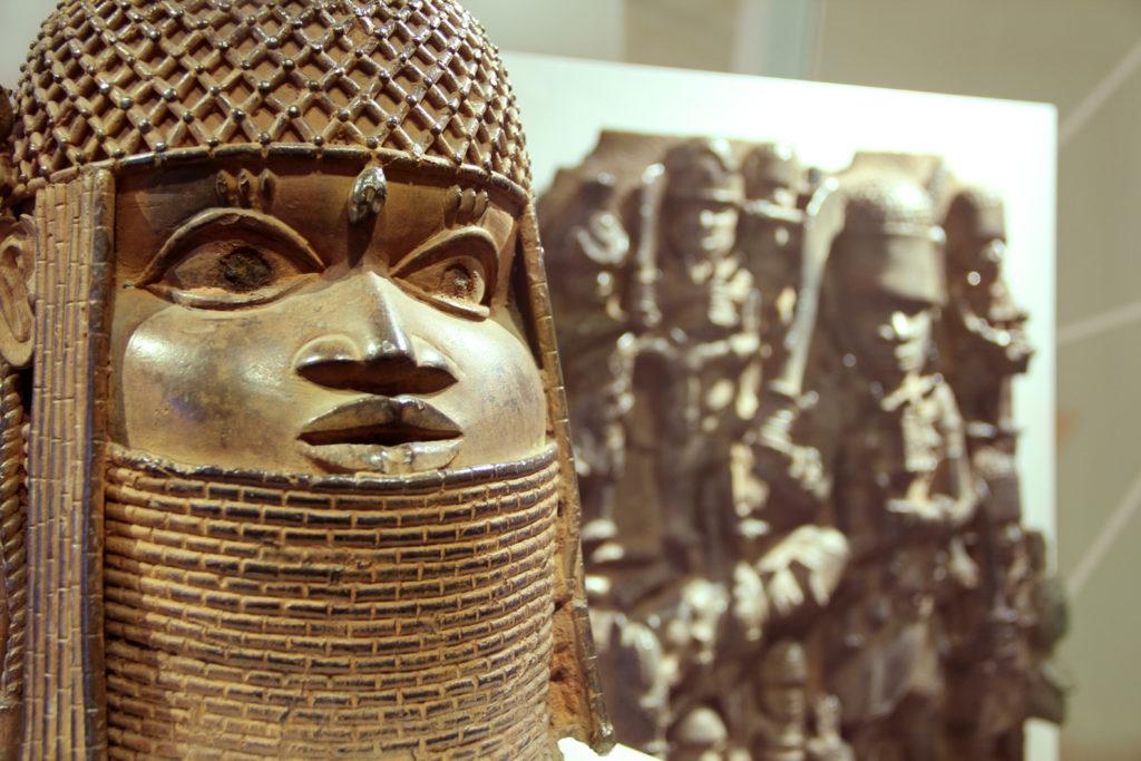 Бронзовые скульптуры нигерийские