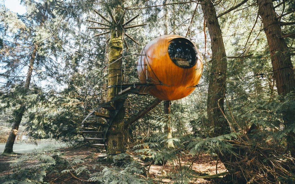 Отель Free Spirit Spheres - Британская Колумбия, Канада