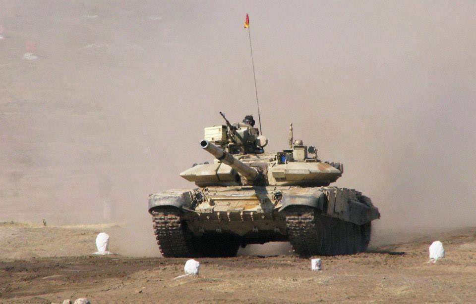 Algeria T-90