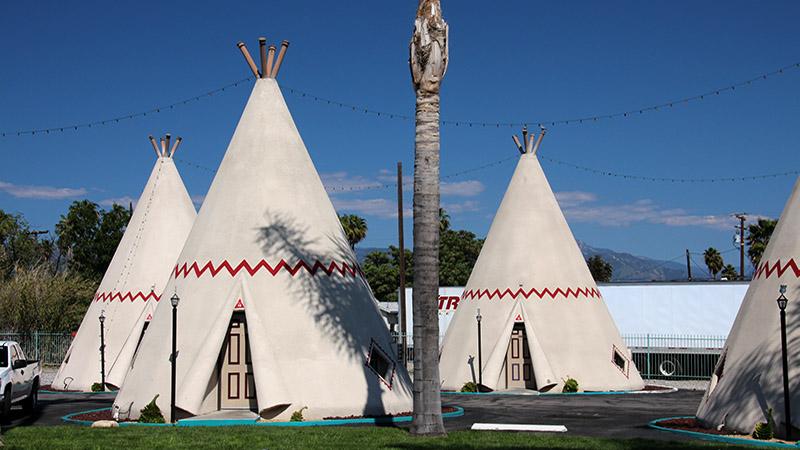 Мотель Вигвам - Сан-Бернардино, Калифорния