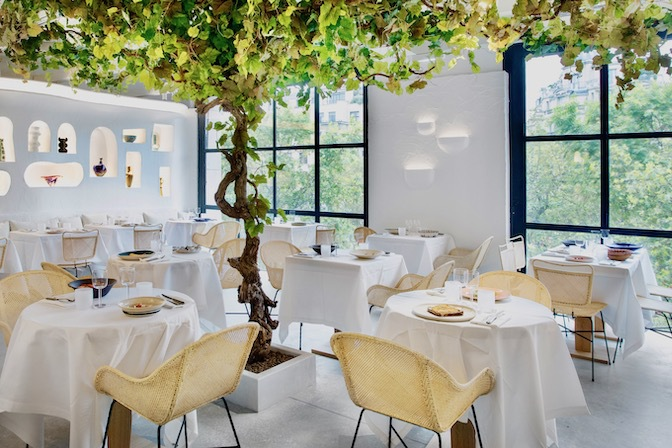 Ресторан Oursin Париж