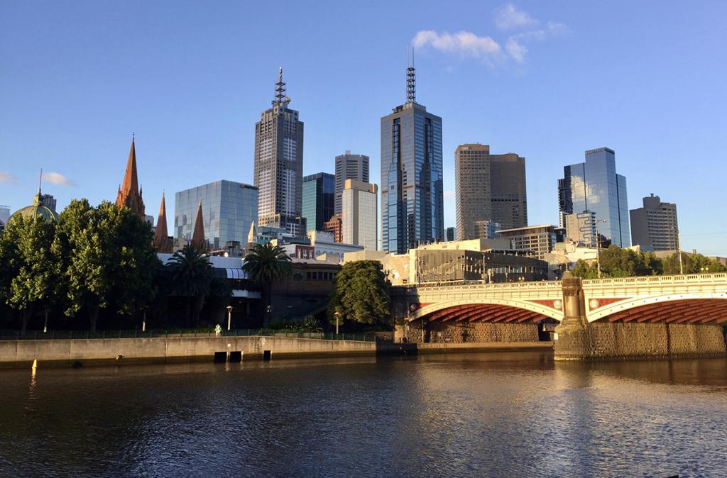 Самый европейский город среди всех городов Австралии.