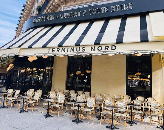 Ресторан Terminus Nord Париж