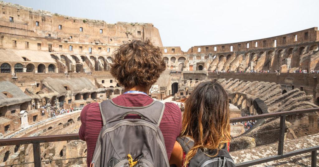 Колизей, Римский Форум и Палатинский холм