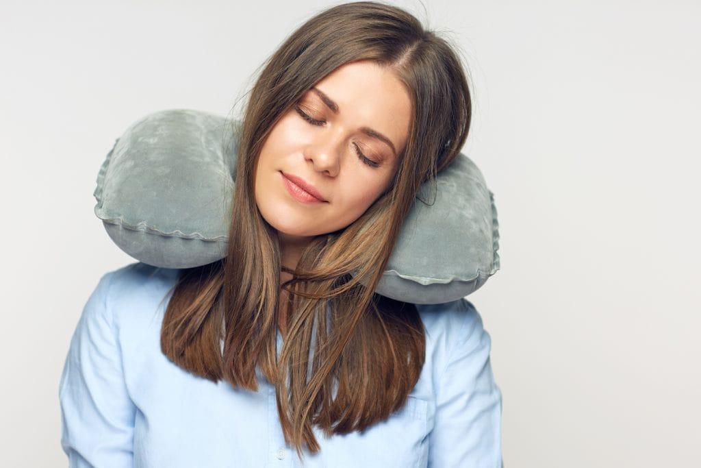 Самолет подушка для путешествий