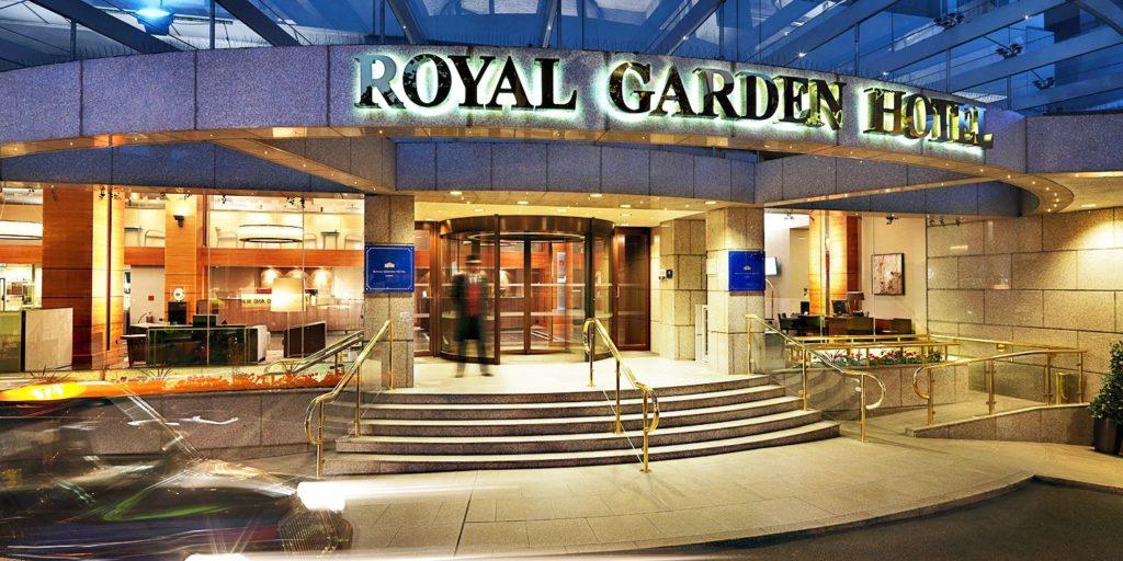 Отель Royal Garden Hotel Лондон