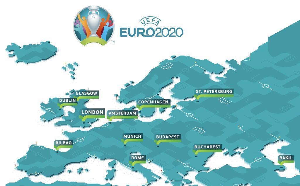 Страны, в которых будут проходить групповые матчи
