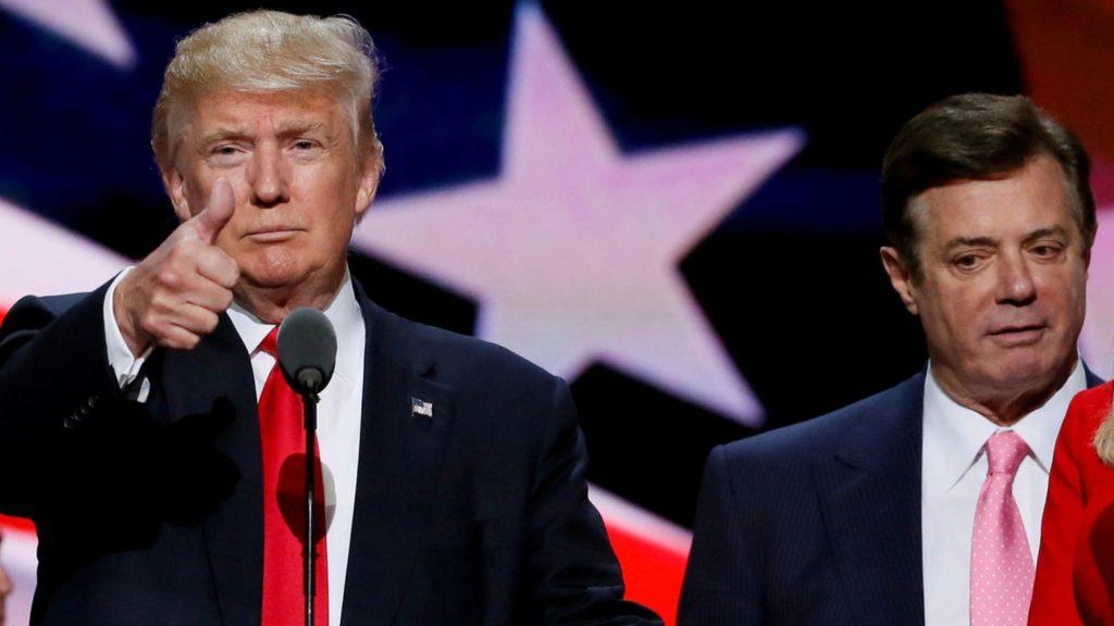 Трамп нанял Манафорта для ведения своей президентской кампании