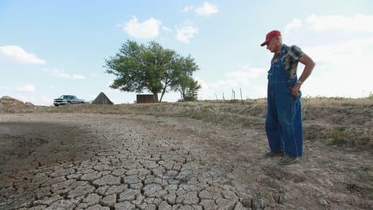 Засуха в США в 2012 году