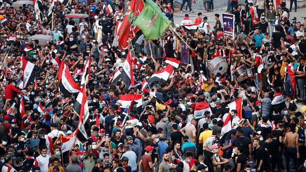 Акции протестов Ирак