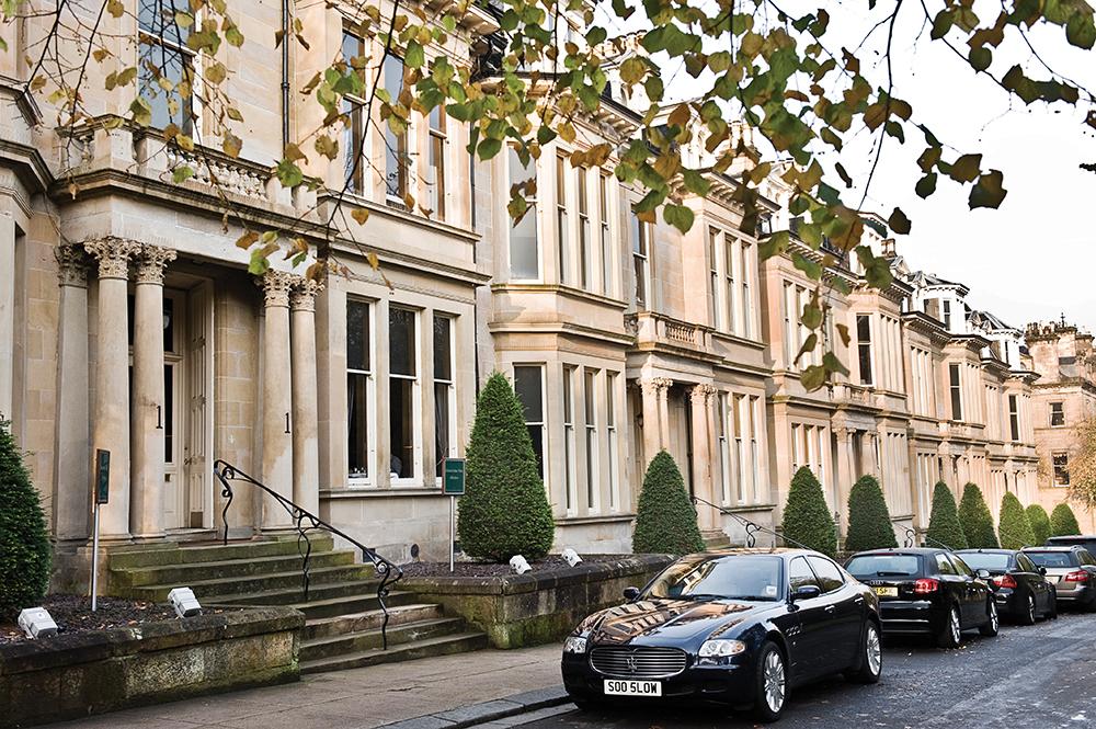 Отель Hotel du Vin Глазго