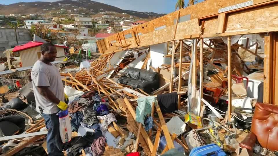 Ураган Мария в Доминике и Пуэрто-Рико в 2017 году